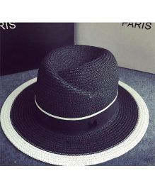 Lilpicks Couture Fedora Sun Hat - Black