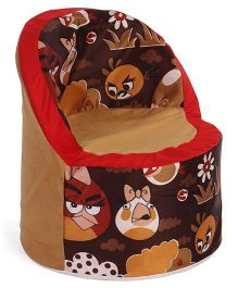 Luvely Angry Birds Sofa Chair - Brown