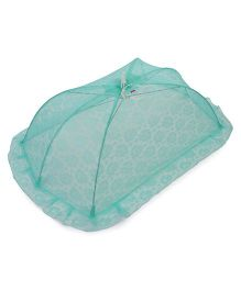 Babyhug Flower Design Mosquito Net Large - Green