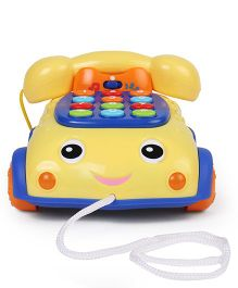 Winfun Talk N Pull Phone Toy - Yellow