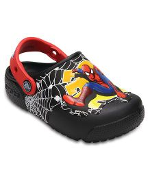 Crocs CrocsFunLab Lights Spiderman  - Black  (3.5  Years)