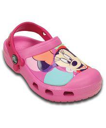 Crocs CC Minnie Colorblock Clog - Party Pink  (1 to 2 Years)