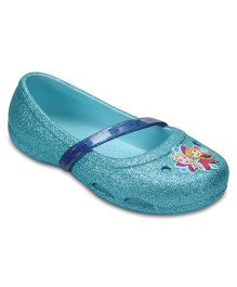 Crocs Crocs Lina Frozen Flat - Ice Blue  (4 to 4.5 Years)