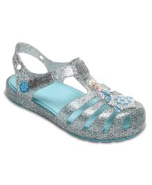 Crocs Crocs Isabella Frozen Sandal - Silver  (4.5 to 5 Years)