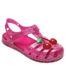 Crocs CrocsIsabella Novelty Sandal - Vibrant Pink  (5 to 5.5 Years)