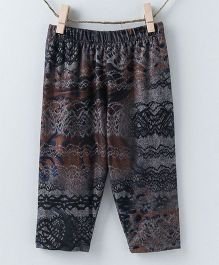 Pebbles Printed Leggings - Dark Blue