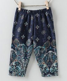 Pebbles Printed Leggings - Blue