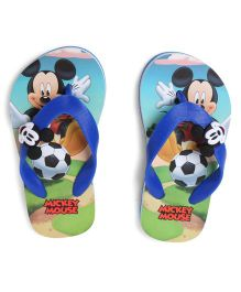 Disney Mickey Mouse And Friends Flip Flops - Blue