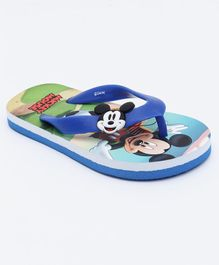 Mickey Mouse And Friends Flip Flops - Blue