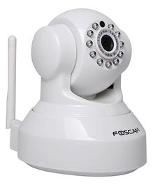 Foscam FI9816P 720P HD Pan Tilt Wireless Security Camera - White