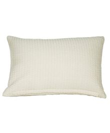 Kanyoga Relaxing Pillow With Buck Wheat Hull Filling - White