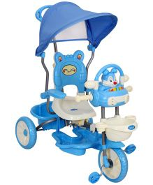 Fab N Funky Tricycle with Music Rabbit Shape - Blue