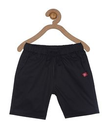 Campana Elasticated Pull On Shorts - Black