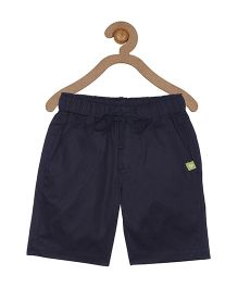 Campana Elasticated Pull On Shorts - Navy
