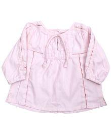 Baby Baya - Pink Full Sleeves Frock
