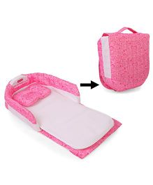 Portable Baby Separated Bed - Pink