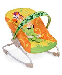 Baby Rocking Chair - Yellow Orange