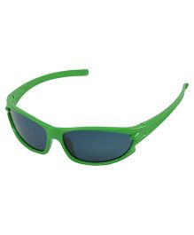 ANGEL GLITTER Cute Kid's Matrix Style Wayfarer Sunglasses - Green