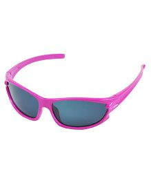 ANGEL GLITTER Cute Kid's Matrix Style Wayfarer Sunglasses - Pink