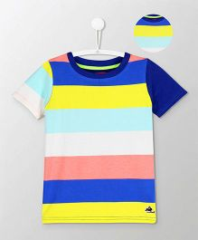 Cherry Crumble California Bold Stripe Tee - Multicolor