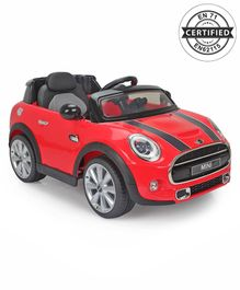 Mini Cooper Battery Operated Car Ride On - Red