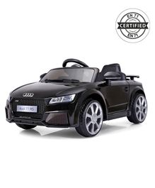 Audi TT RS Battery Operated Ride-On - Black