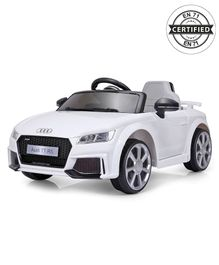Audi TT RS Battery Operated Ride-On - White