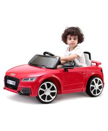 Audi TT RS Battery Operated Ride-On - Red
