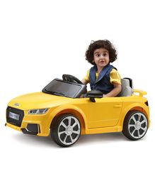 Audi TT RS Battery Operated Ride-On - Yellow