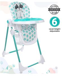 Babyhug Fine Dine Highchair - Sea Green White