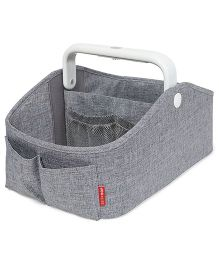 Skiphop Diaper Caddy Stacker With Light - Grey