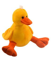 Ultra Duck Soft Toy Yellow Orange - Height 22 cm