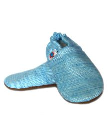 SKIPS Cotton Booties - Light Blue