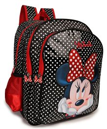 Disney Minnie Mouse School Bag Black - 16 inches