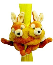 Tickles - Rabbit Pair Curtain Hanger - 20 cm