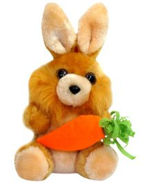 Tickles Bunny With Carrot (Color May Vary)