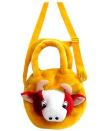 Tickles - Yellow Cow Hand Bag