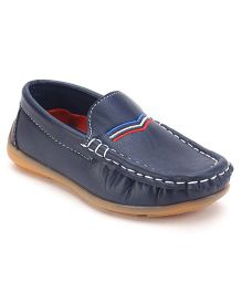 Cute Walk by Babyhug Slip On Loafer Shoes - Navy