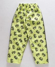 Taeko Full Length Lounge Pant Goggle Print - Light Green