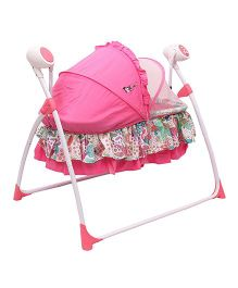 Toyhouse Battery Operated Baby Swing - Pink