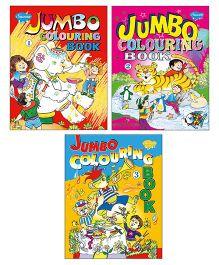 Sawan Jumbo Coloring Books Level 1 2 3