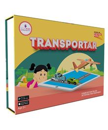 Scifikids Augmented Reality Transportar Educational Kit - Yellow