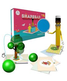 Scifikids Augmented Reality Shapesar Educational Kit - Dark Pink