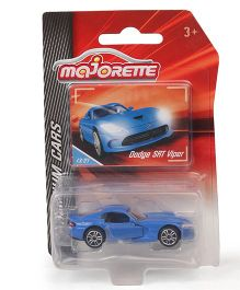 Majorette Limited Edition Dodge SRT Viper Toy Car - Blue
