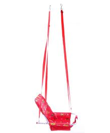 Mothertouch 2 In 1 Swing Teddy Print - Red