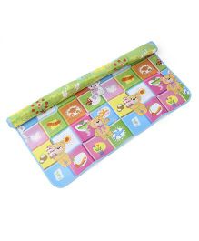 Animal And Number Playmat - Multicolour
