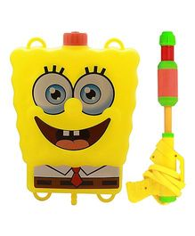 DealBindaas Sponge Bob Water Gun With Back Pack (Color & Design May Vary)