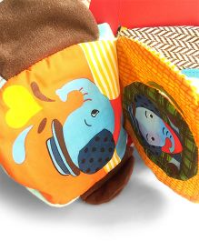 2 Footya Hand Puppet Book Elephant Design - Multi Colour