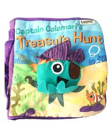 2 Footya Treasure Hunt Cloth Story Book - Sea Green Multi Colour