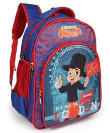Chhota Bheem School Bag London Theme - 16 inches
